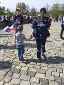 Благополучно найденный ребенок Фото: Марьяна Шевцова