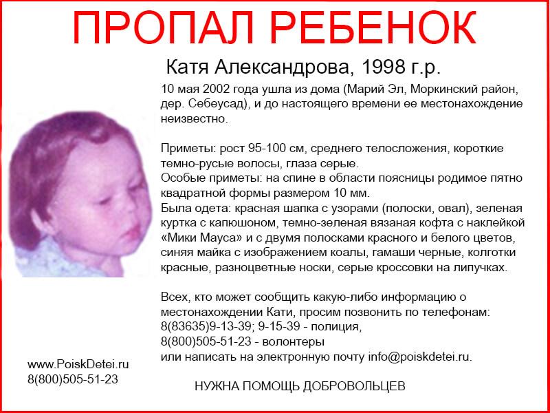 Катя Александрова